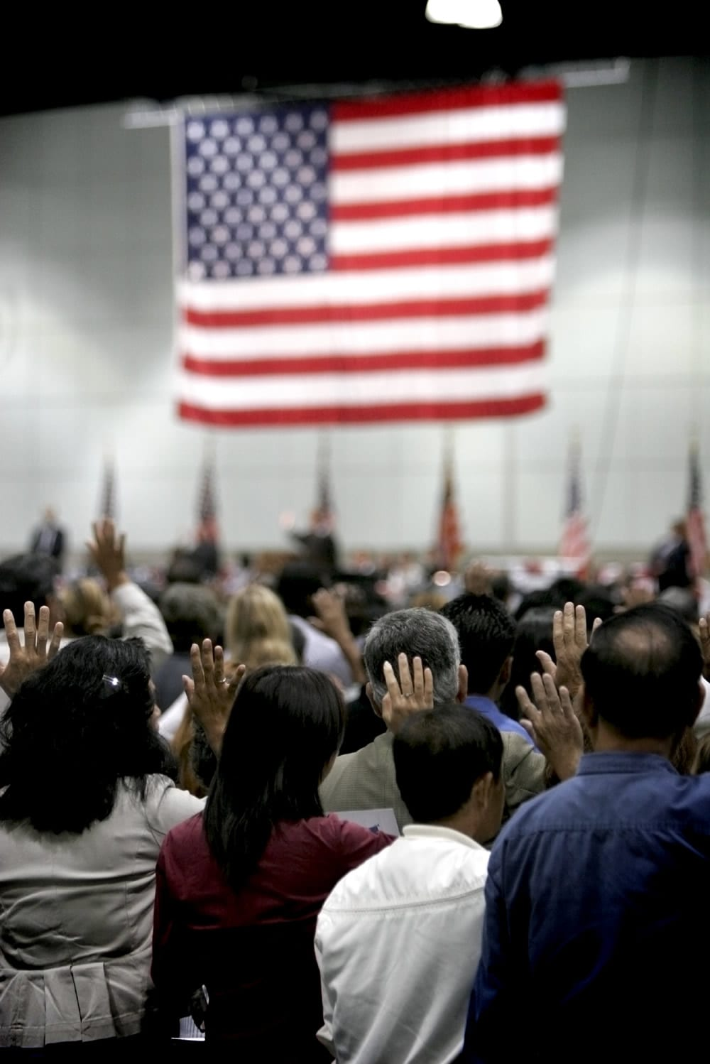 U.S. citizenship interview people