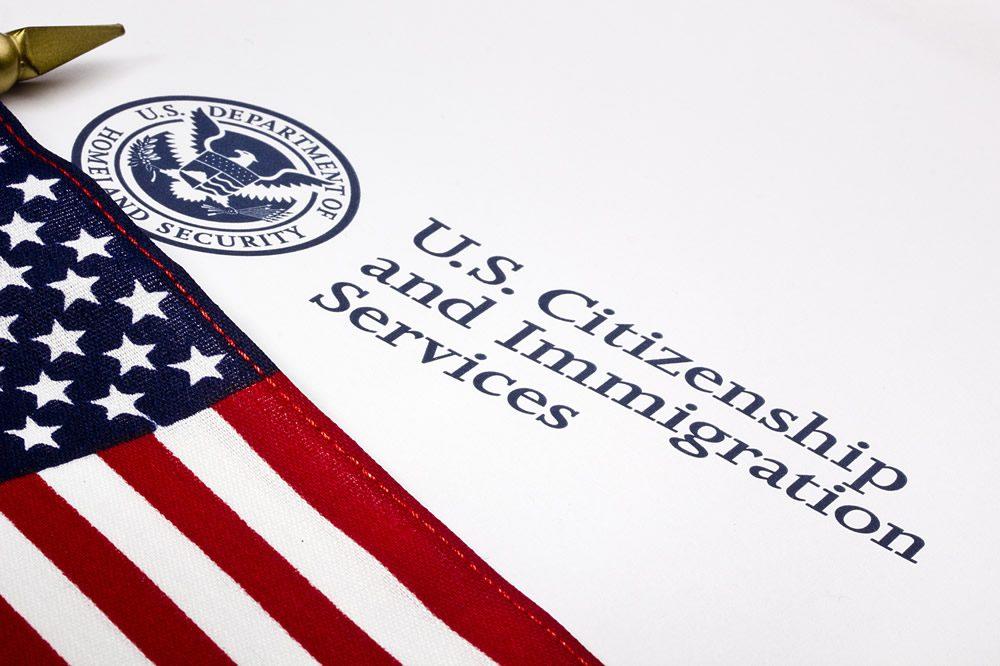 us citizenship test uscis symbol