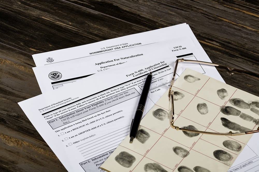 us citizenship test documents